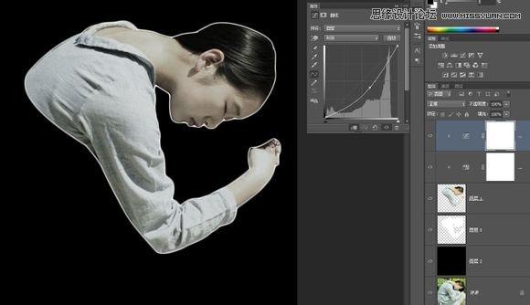 巧用Photoshop烟雾笔刷合成创意的人像海报