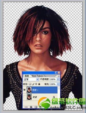 使用PhotoShop通道抠图给照片换背景教程