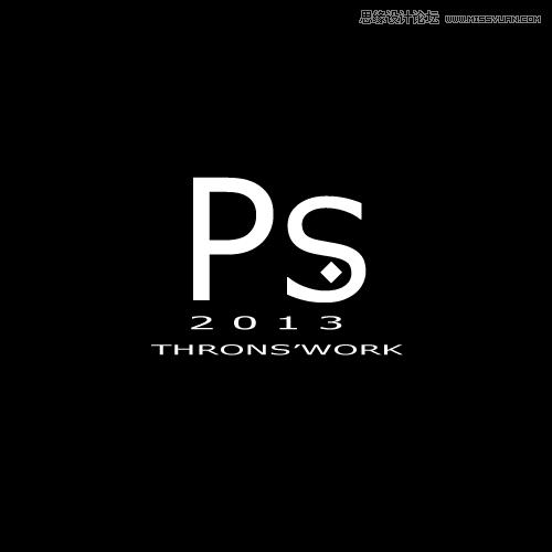 Photoshop设计超强金属质感的艺术字教程