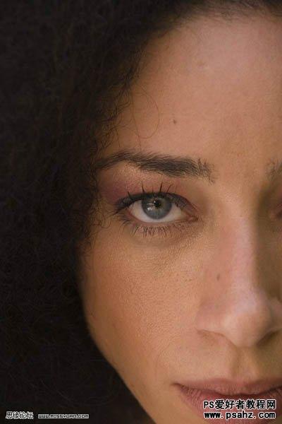 PS磨皮美容:给MM的眼部加上漂亮的眼影教程