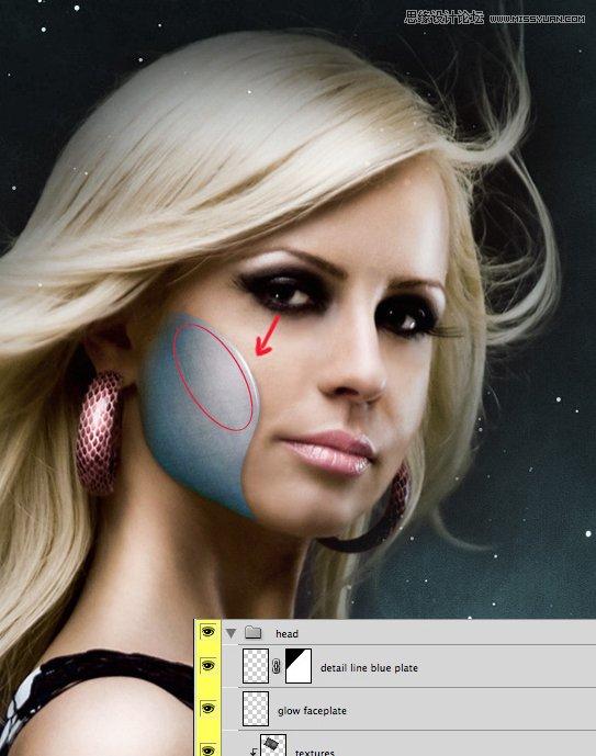 Photoshop设计一幅科幻的电影海报教程