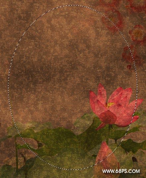 Photoshop合成鲜花美女效果的溶图教程
