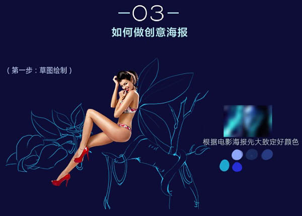 Photoshop设计魔幻风格的化妆品商业海报
