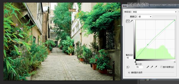 Photoshop调出日系胶片质感效果的风景照片