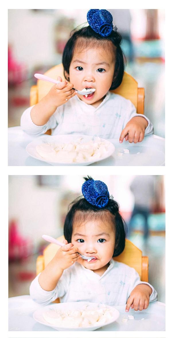 Photoshop调出怀旧胶片色调的儿童照片