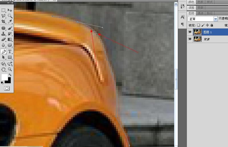 详解PhotoShop钢笔工具抠图方法及实例教程