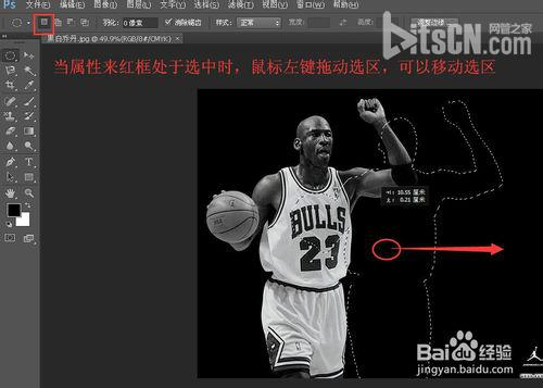 Photoshop磁性套索工具使用方法和步骤