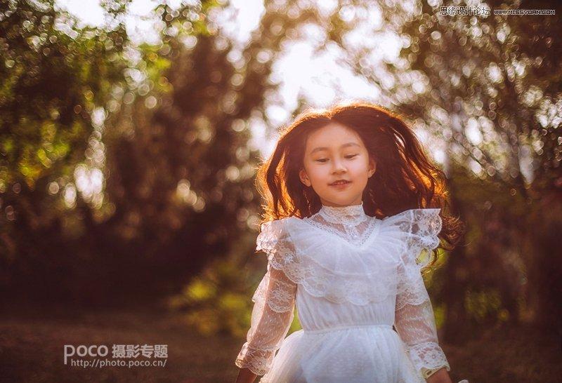 Photoshop调色调出欧美风效果的儿童照片
