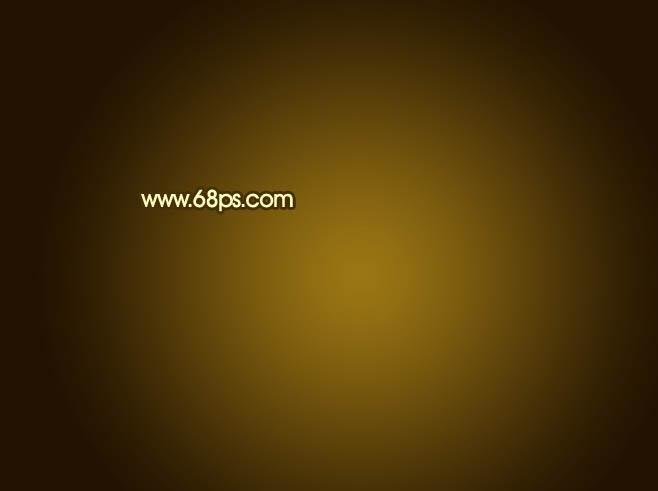 Photoshop制作金色质感的中秋节艺术字教程