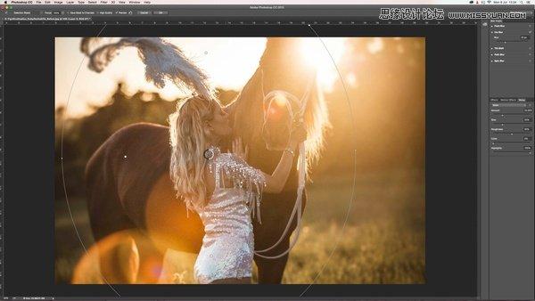 Photoshop巧用去雾霾和模糊改进后期修图