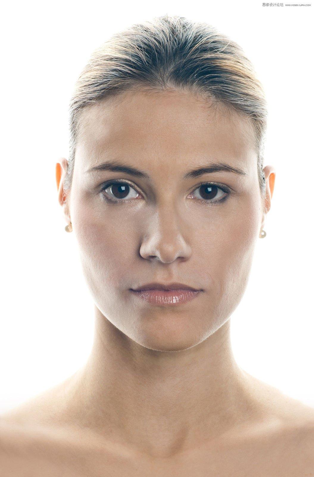 详细解析人像后期肖像图Photoshop修图过程