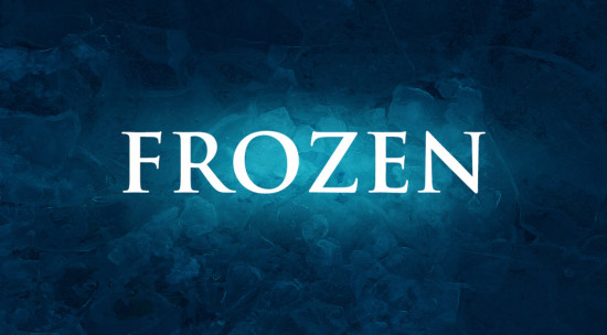 Photoshop制作洁白的霜冻冰雪文字效果