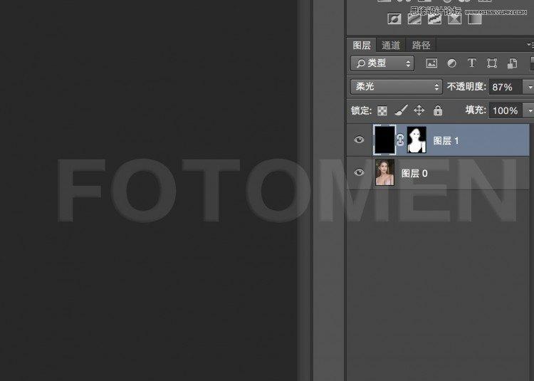Photoshop给后期人像添加任意肤色效果