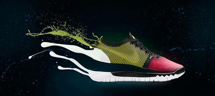 Photoshop制作动感液化运动鞋图片教程