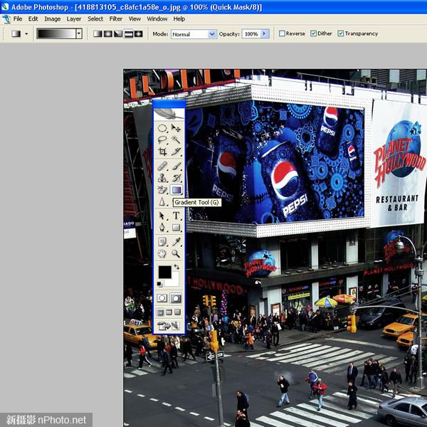 用Photoshop给数码照片添加移轴摄影效果