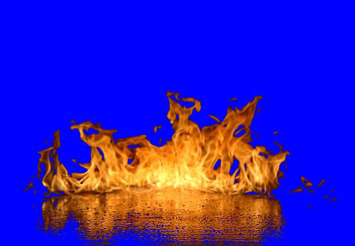 PS抠图给火焰图片抠图换背景的八种方法
