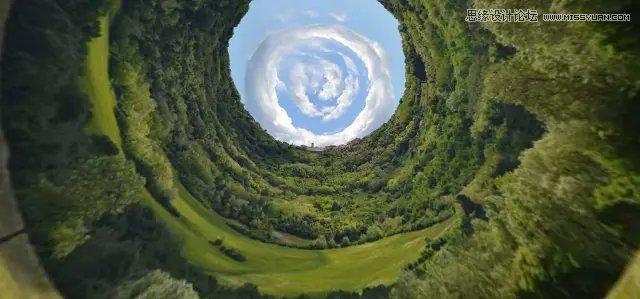 巧用Photoshop极坐标制作创意的星球海报效果
