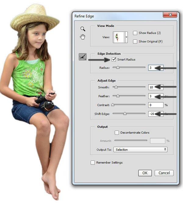 Photoshop合成做在小草上钓鱼的微观小女孩