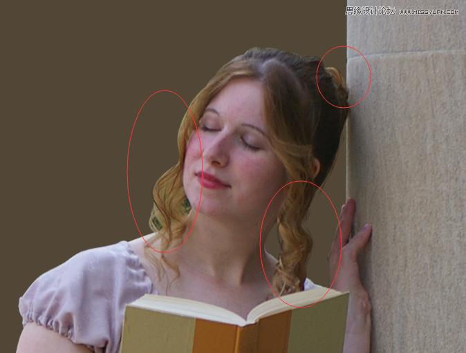 Photoshop合成梦幻风格的森林中公主效果图