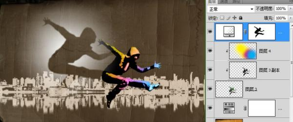photoshop合成制作炫丽时尚的街舞海报设计