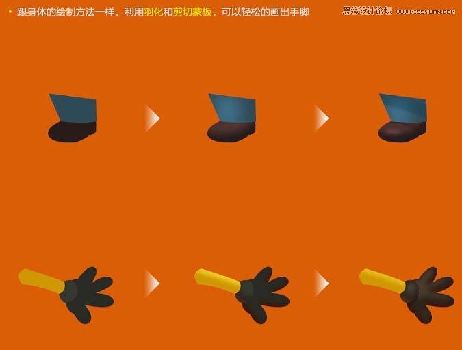 Photoshop鼠绘绘制立体逼真小黄人图标效果