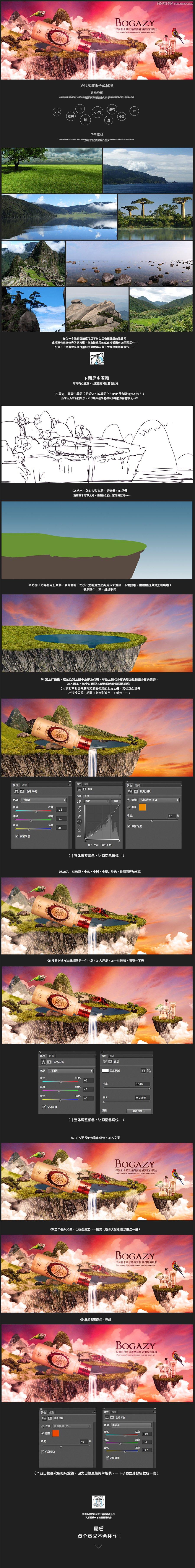Photoshop合成大气的护肤品海报设计教程