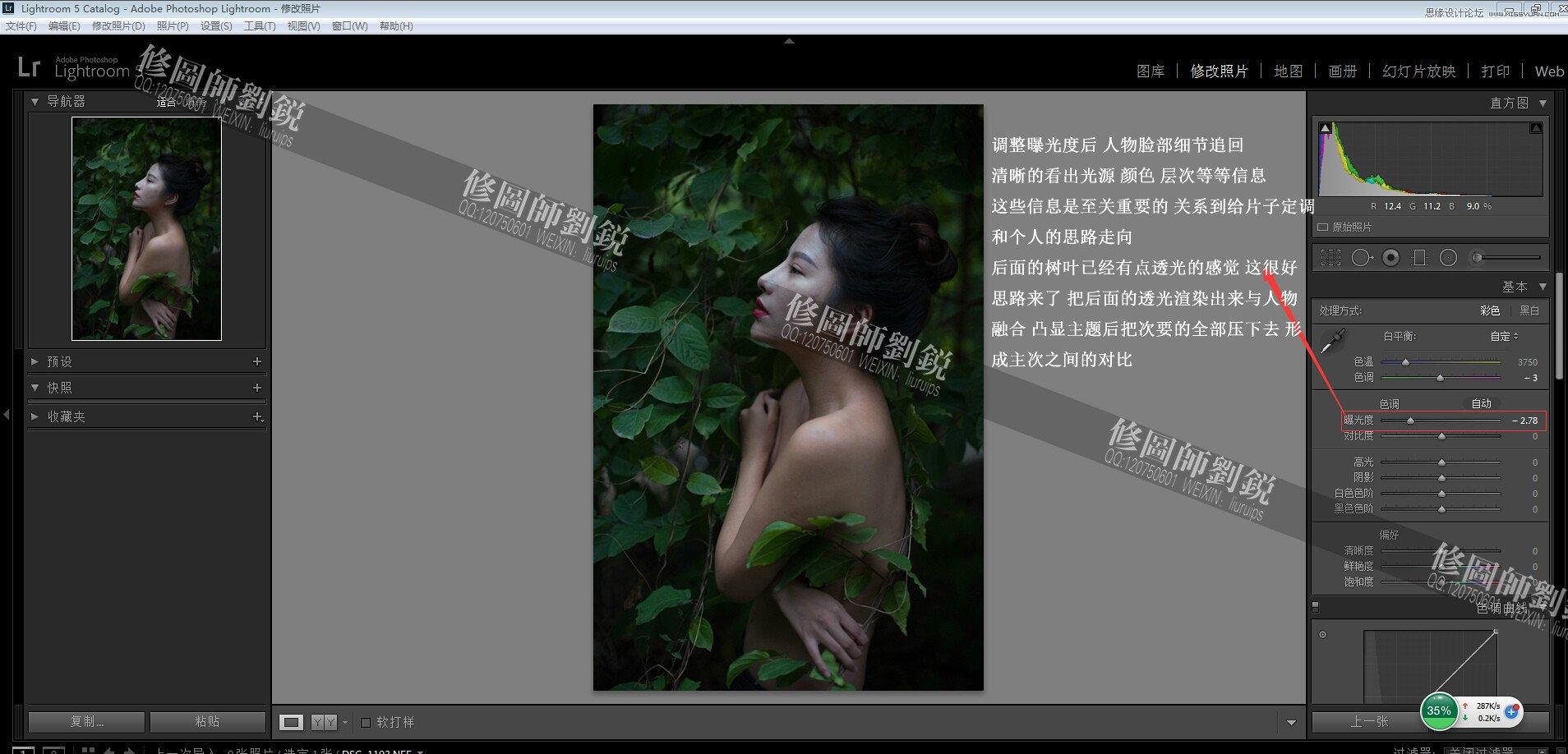 Photoshop调出外景人像唯美的电影胶片效果