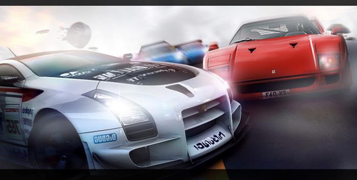 Photoshop合成创意独特的赛车海报设计教程
