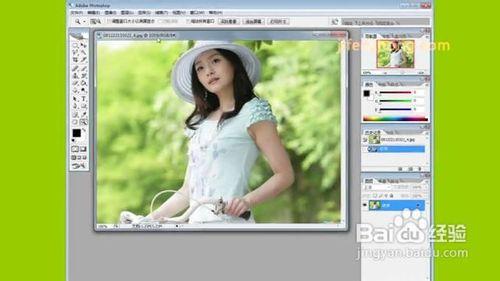 使用photoshop调整图片大小教程