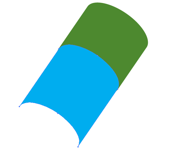 Illustrator绘制绿色逼真的铅笔效果图