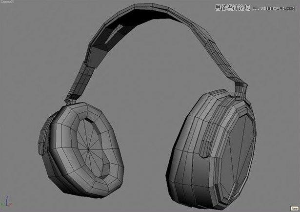 3DSMAX制作逼真的电脑耳机教程