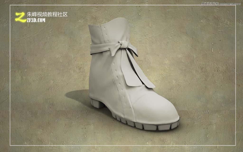3dmax制作逼真的高跟鞋教程