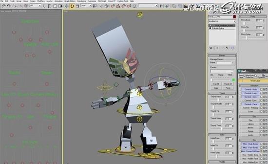 3ds Max绘制个性的外星生物
