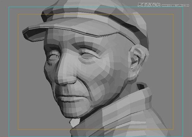 3ds Max制作乡村渔夫头像设计教程