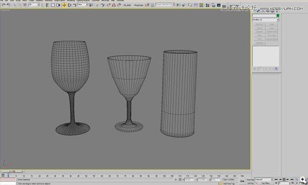 3ds Max实例教程:结合VRay插件制作的玻璃杯
