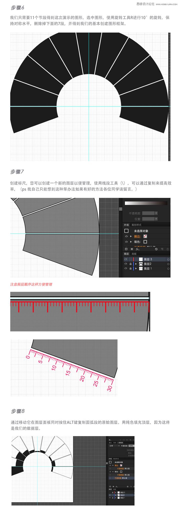 Illustrator设计一本杂志信息图表教程