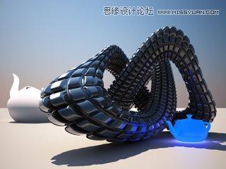 3DMAX结合V-Ray 1.50.SP2创建模糊效果景深