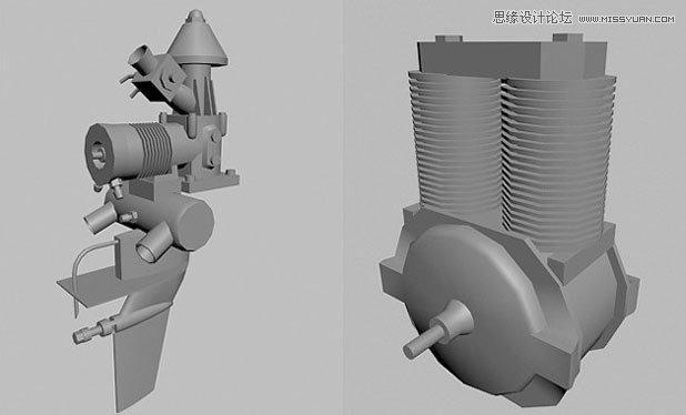3DMAX制作超酷的外星机器人