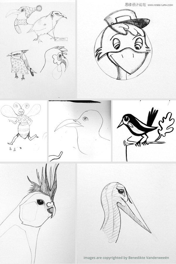 Illustrator绘制卡通风格的应用程序图标
