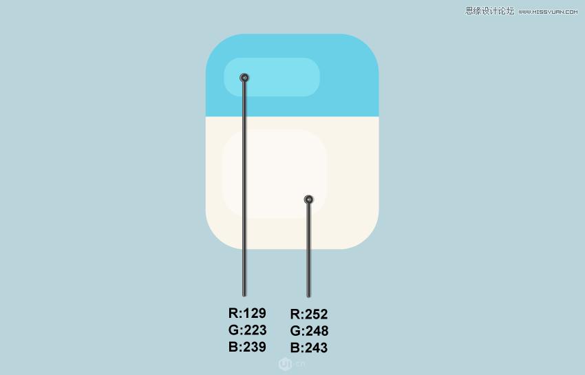 Illustrator绘制简洁风格的牙齿图标教程
