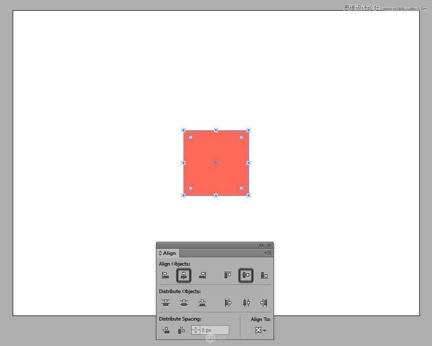 Illustrator绘制扁平化风格的城堡图标