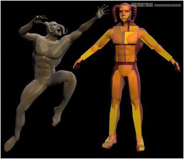 3Ds Max制作游戏中的CG人物教程