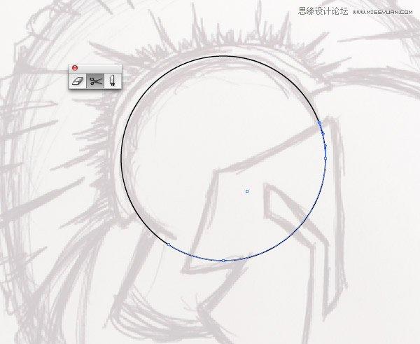 Illustrator教程:把纸上草图转换成插图