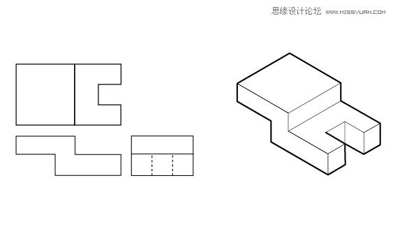 Illustrator绘制三维立体透视图教程