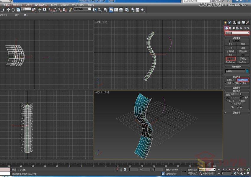 3Dmax给七夕情人节之玫瑰花的建模方法
