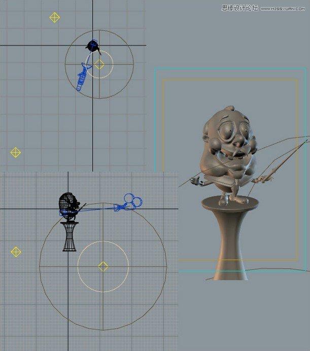 3DMAX制作卡通风格的指挥家教程