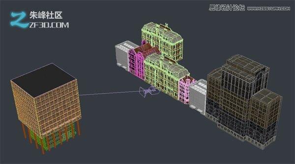 3dmax融合后期制作超酷室外效果图教程