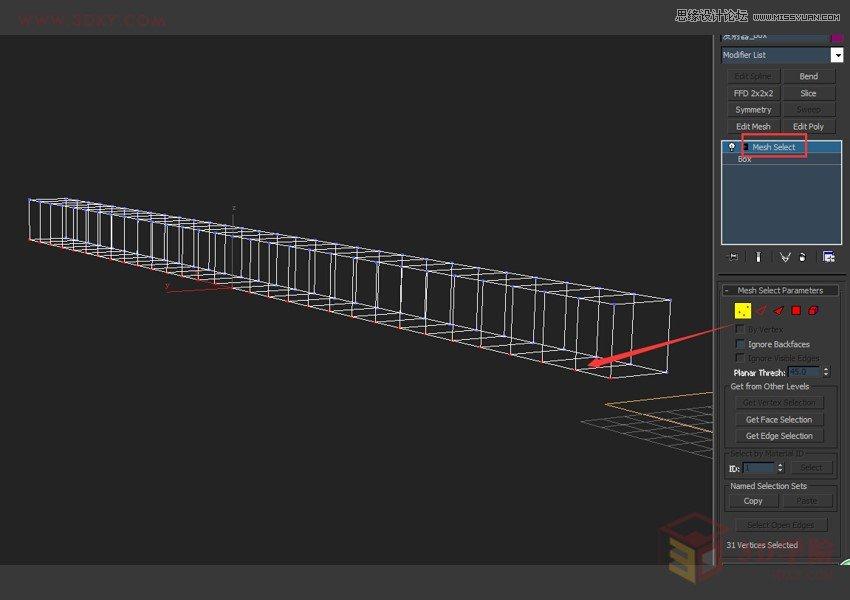 3DMAX实例教程:粒子系统制作字符雨效果