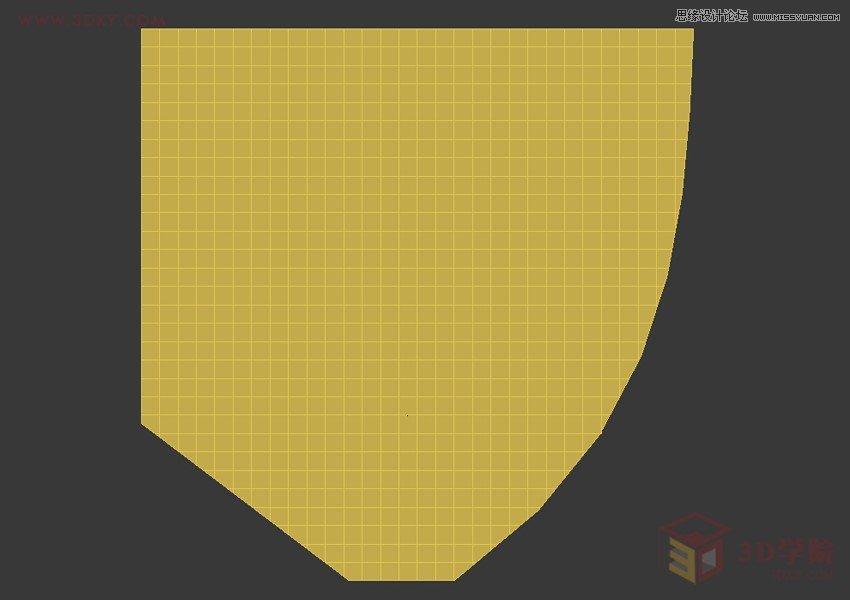 3DMAX利用Poly制作异形体育馆建筑效果
