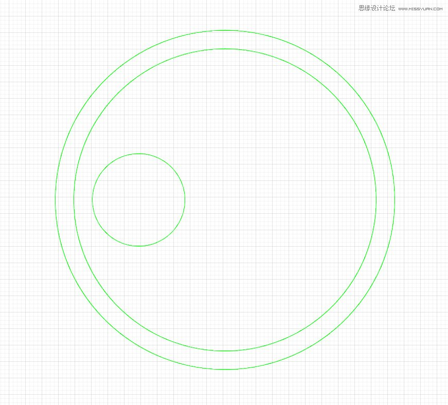 Illustrator使用圆形工具绘制猫头鹰形象